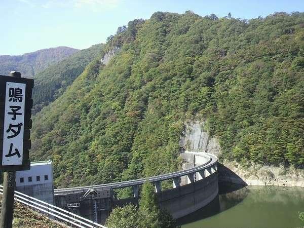 10月8日の鳴子ダム。紅葉はまだという感じですが、オニコウベは・・・(*´ω`*)