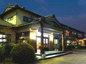 天然温泉と上質の猪肉が愉しめる静かな旅館