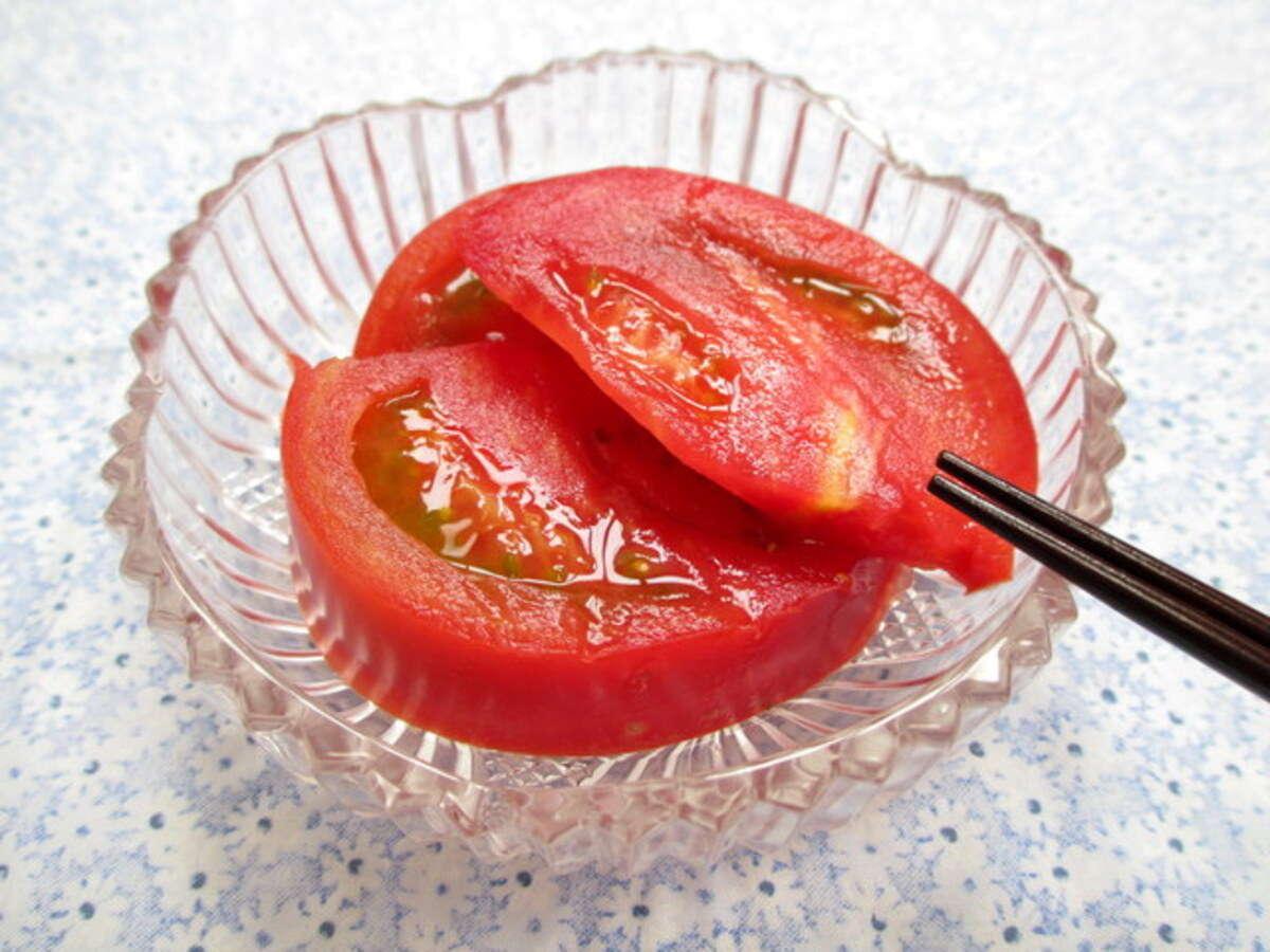 【おつまみ】「冷やしトマト」300円
