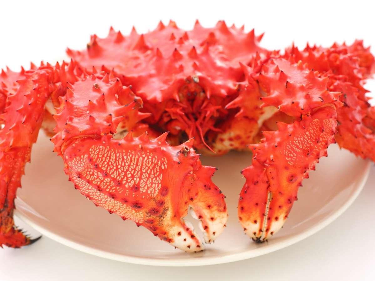 蟹の旨味がぎっしり  花咲蟹