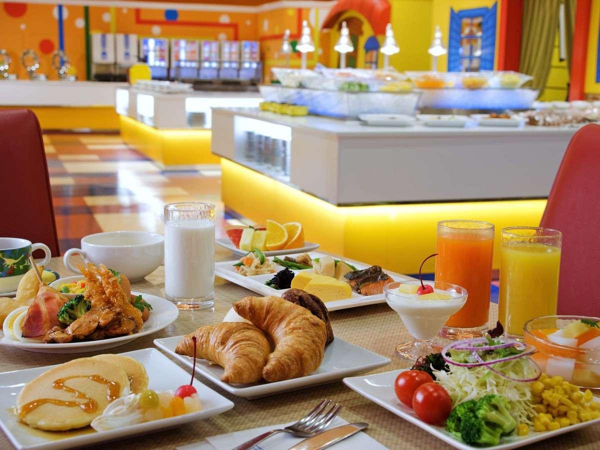 しっかり食べよう♪朝食バイキング(イメージ)