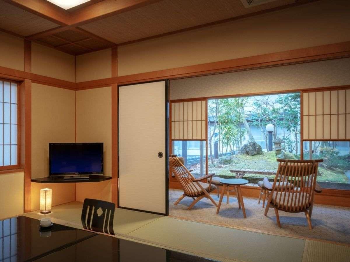 眺めのいい特別室「こぶしの間」