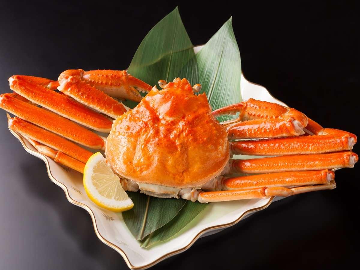 【ゆで蟹】山陰!冬の味覚!甘くて美味しいかに!