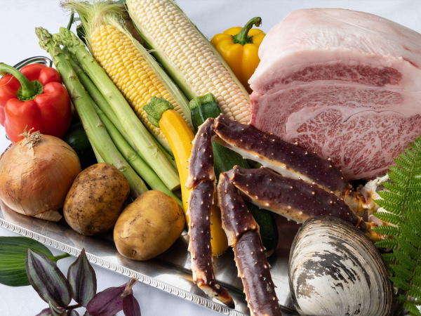 北海道が誇る新鮮食材をお客様にご提供いたします。