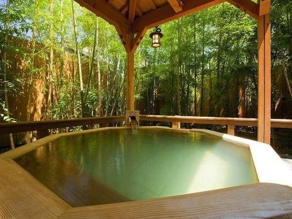 貸切露天風呂「槙の湯」45分1室1,300円
