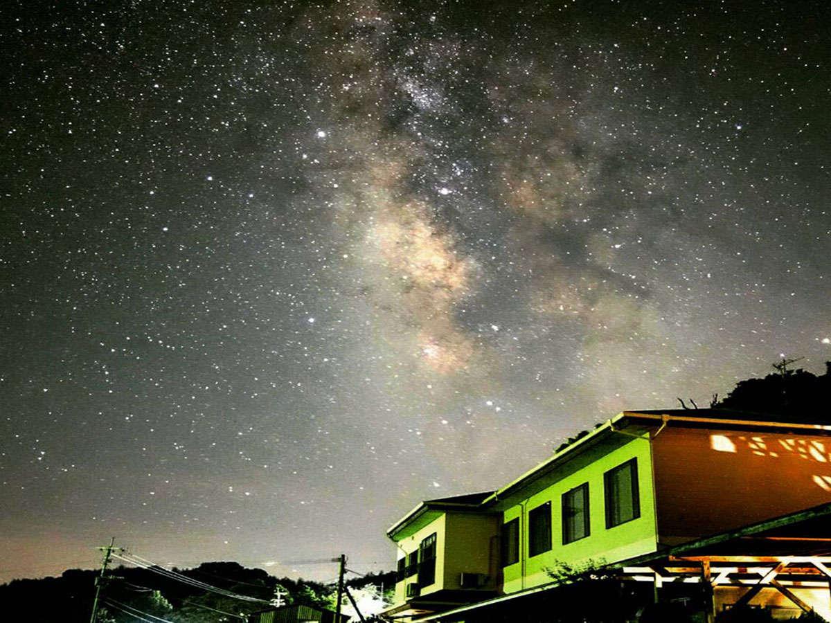 宿前天文台 天の川
