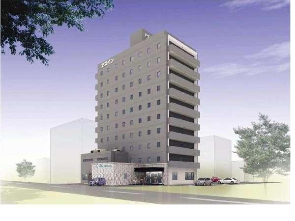 能登川駅前に新しくオープンするホテルです!