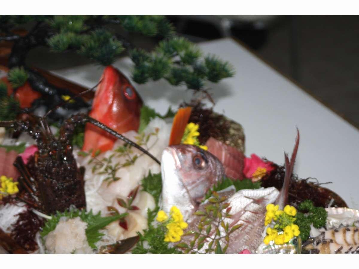 特大船盛り地魚ハタと真鯛4~5人用