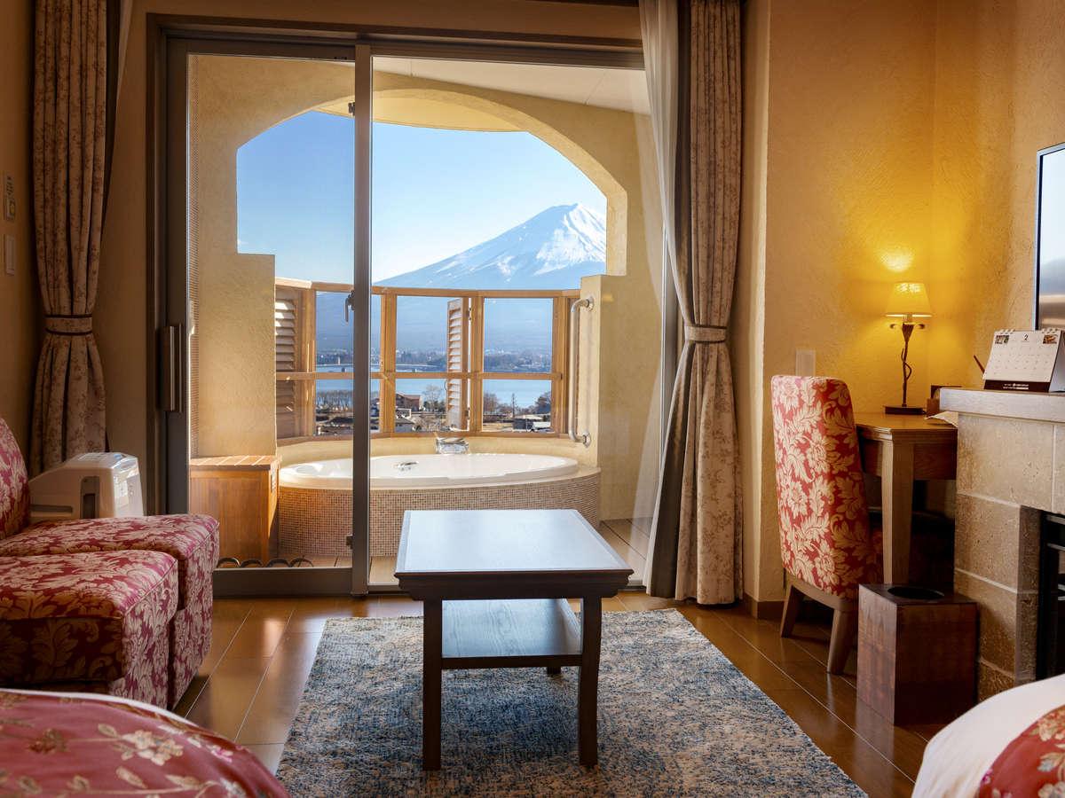 【ローズツイン】お部屋から富士山を望むことができます。