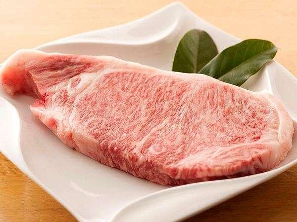 A4等級の質のお肉(写真は肉質のイメージです・カットしてお出しします)