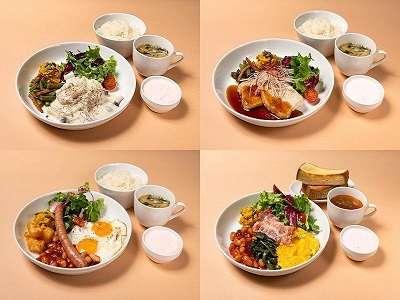 【朝食】1階レストラン■朝食内容…4種類の選べるセットメニュー