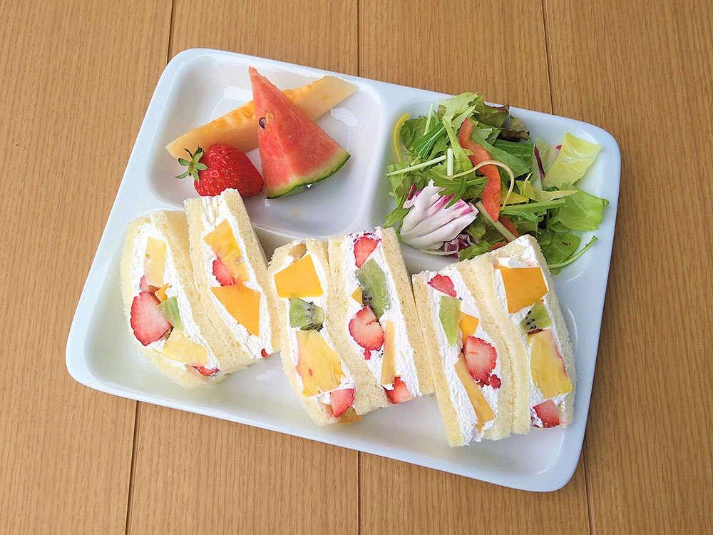 【朝食】館外レストラン 朝食会場…エキュートosoto果実園リーベル・朝食時間…7:00~11:00