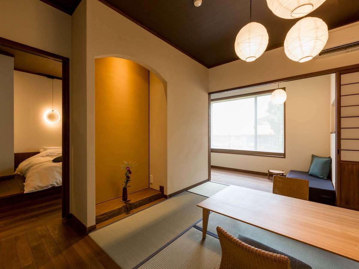 温泉内風呂付き和洋室「菊」:和の落ち着きと遊び心が詰まった菊の間