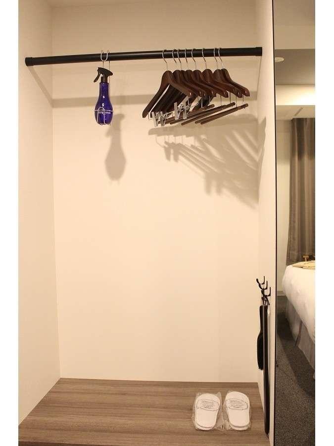 ≪客室クローゼット一例≫