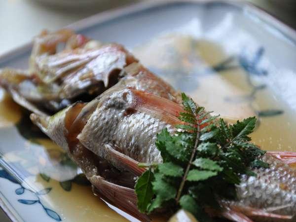 山陰の高級魚「のどぐろ」を煮付けでも食べれます♪