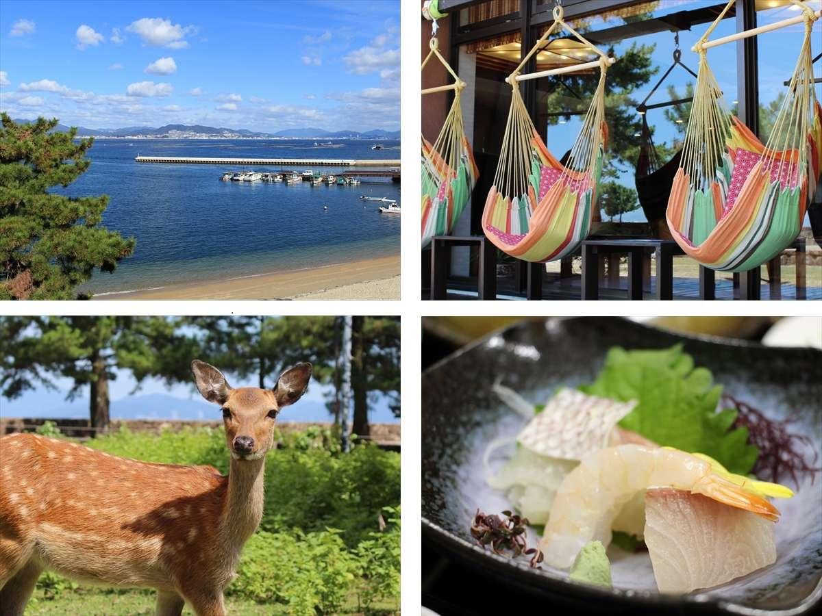 【宮島シーサイドホテル】瀬戸内の豊かな自然に恵まれた眺望自慢の宿