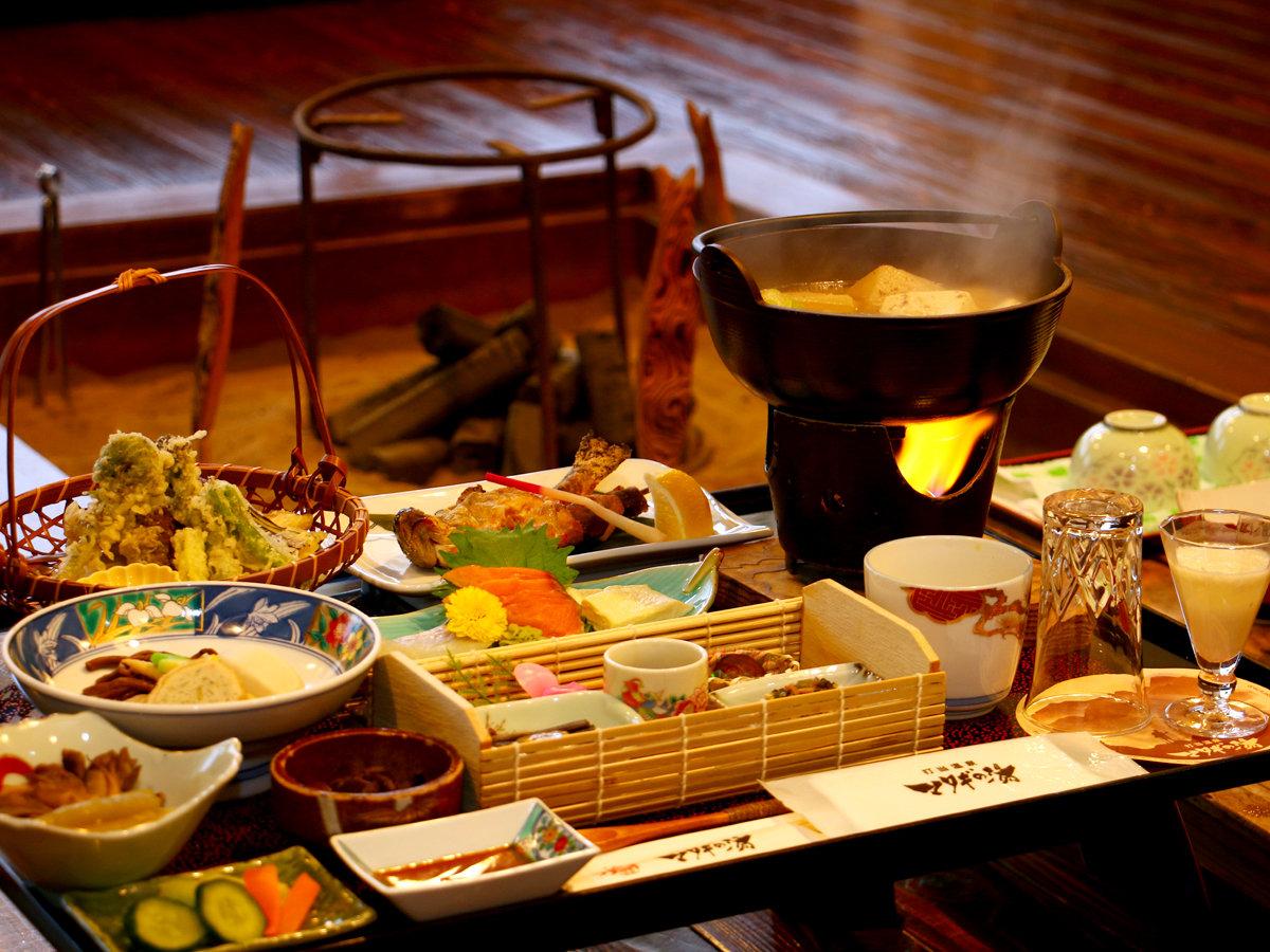 【贅沢じゃんご料理】お食事をグレードアップ!手間暇かけた山里の美味をご堪能あれ☆