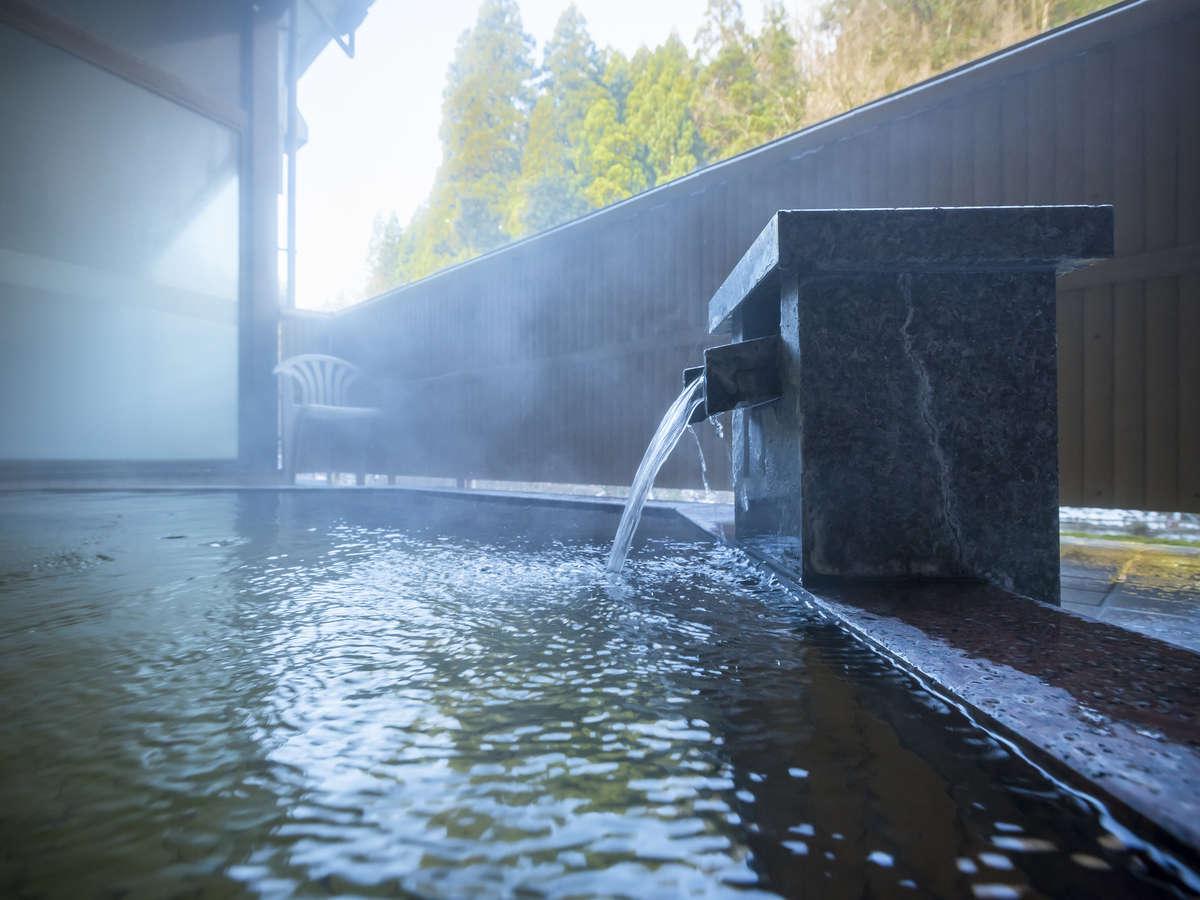 ■温泉■しっとりした質感が好評の天然【宮島温泉】を心ゆくまで。