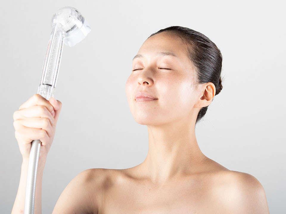 まるで美顔器のようなシャワーヘッド「ミラブル」※イメージ