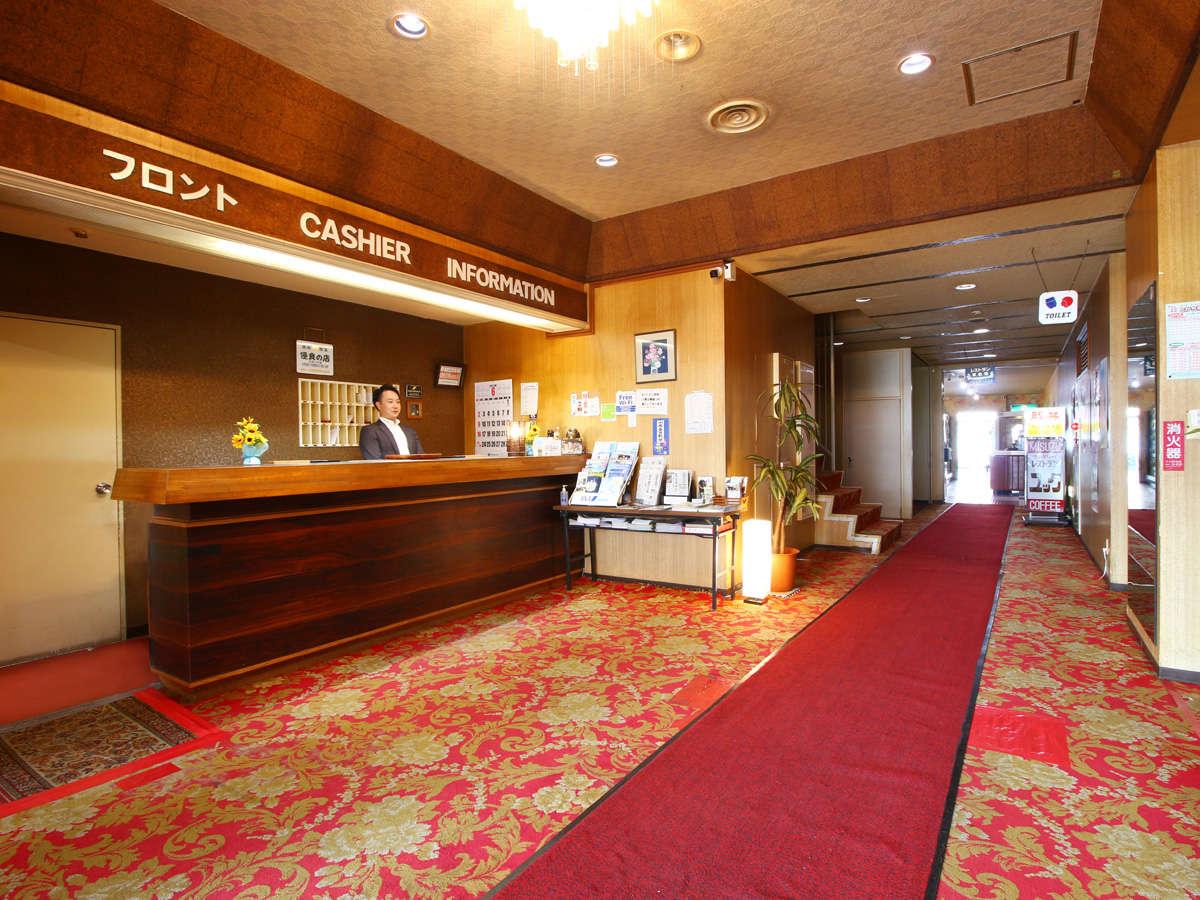 古いホテルですが『温泉』は最高!安さ追求!で頑張っています