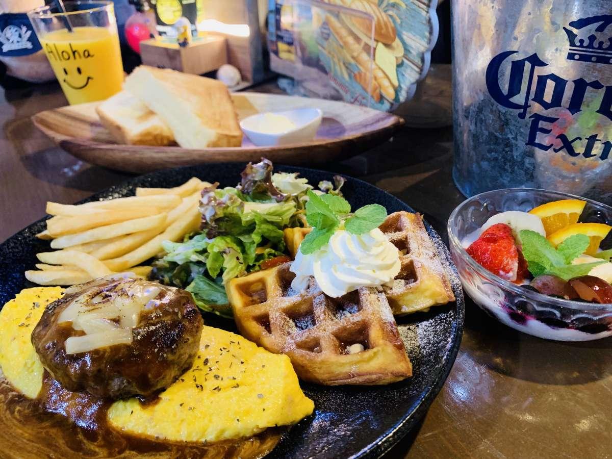 Ma-Blue Garden House 朝食セットメニュー