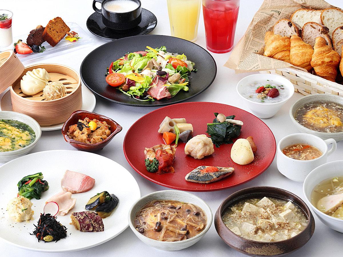 朝食ブッフェ(例)
