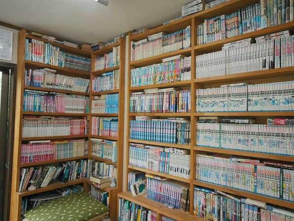 2000冊の漫画があなたを寝かせません!