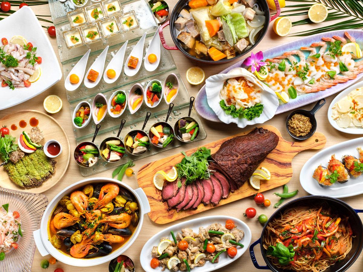 【エンターテイメント×ビュッフェ】わくワクが止まらない非日常のお食事体験をご用意してお待ちしてます!