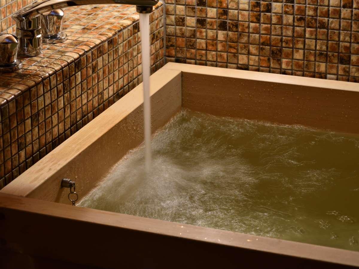 たっぷりと温かなお湯を溜めて、ゆったりとしたバスタイムを♪