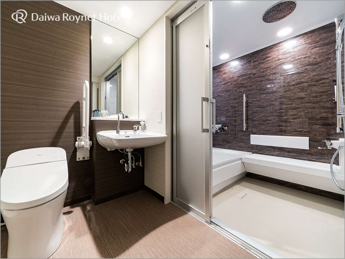 ユニバーサルツインルーム 浴室