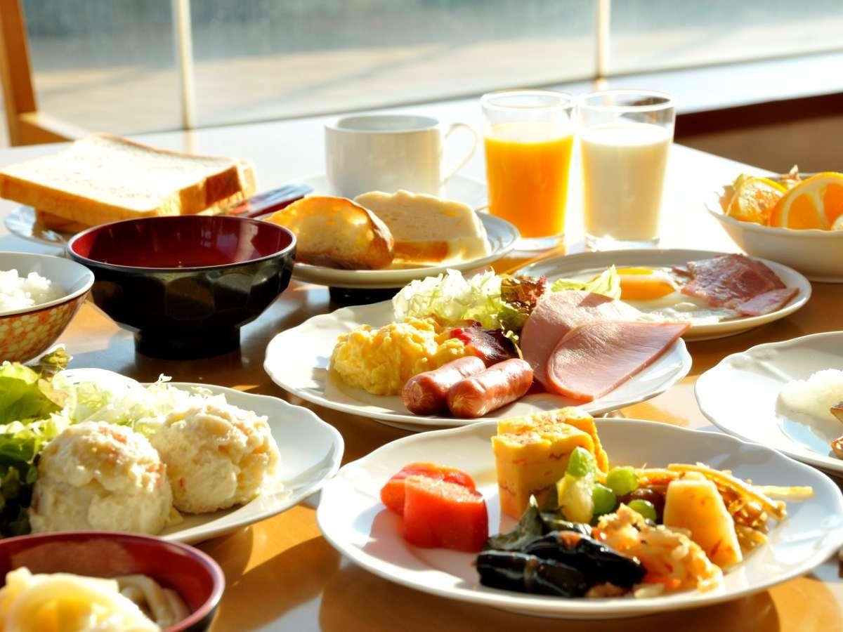 ◆【朝食ビュッフェ】洋食・和食ともに充実した品ぞろえ!