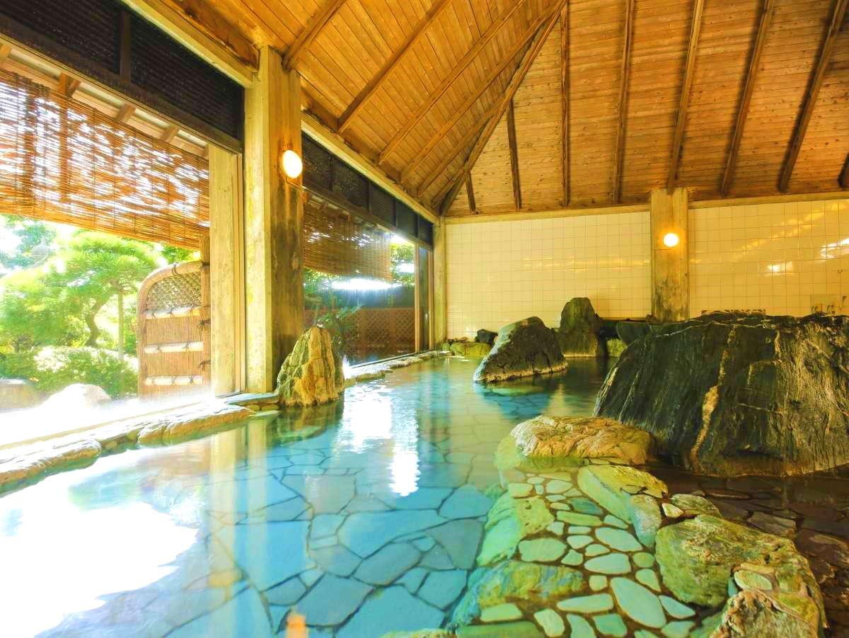岩風呂(大浴場・内湯)