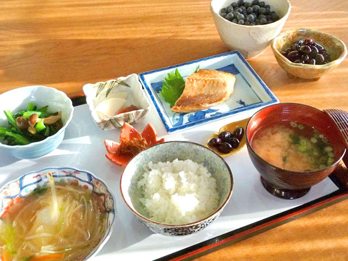 【朝食一例】ほっこり落ち着く朝の贅沢