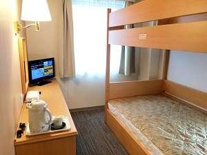 【2段ベッドルーム】ベッドサイズ:103cm×195cm