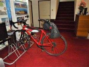 館内 自転車ラック完備
