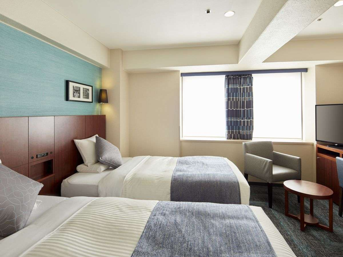 ベッド2台をくっつけるハリウッド仕様も可能です。