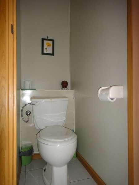 トイレはセパレートタイプ。