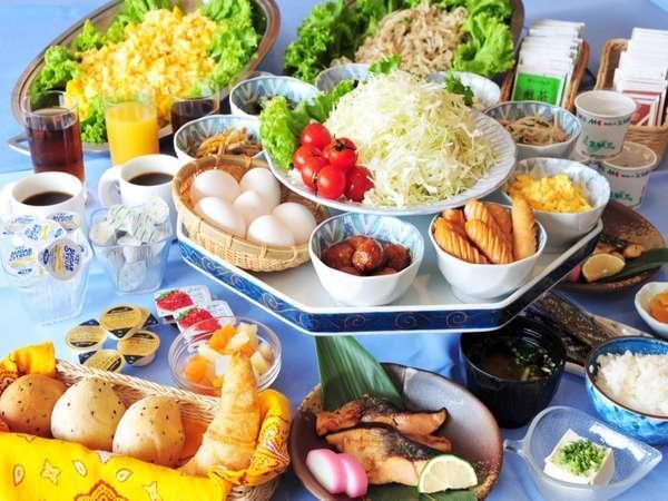 【朝食】バイキング
