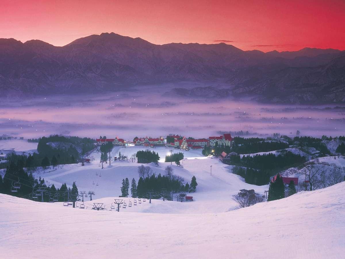 ホテル全景(冬期)