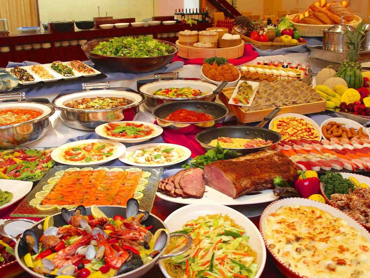 豪華夕食バイキング(イメージ) ※セットメニューの提供となるお日にちもございます。