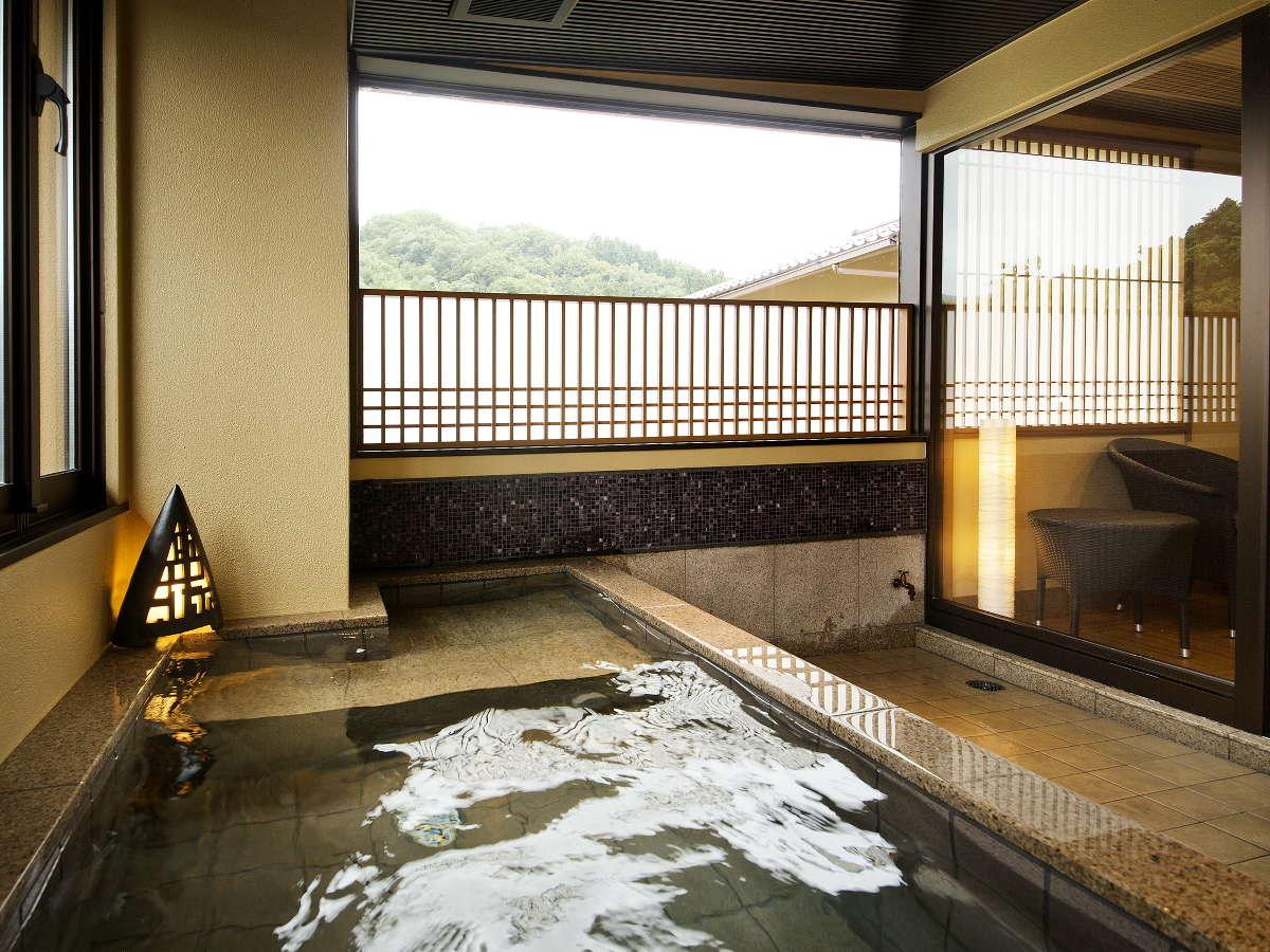 別邸-神楽-■貸切露天風呂■大切な方とゆっくりとお愉しみ下さい