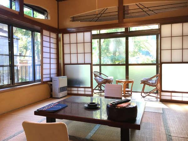 別館「鈴蘭」1階でお風呂に近いお部屋です。
