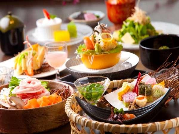 【夕食】季節の食材を活かしたお料理/例