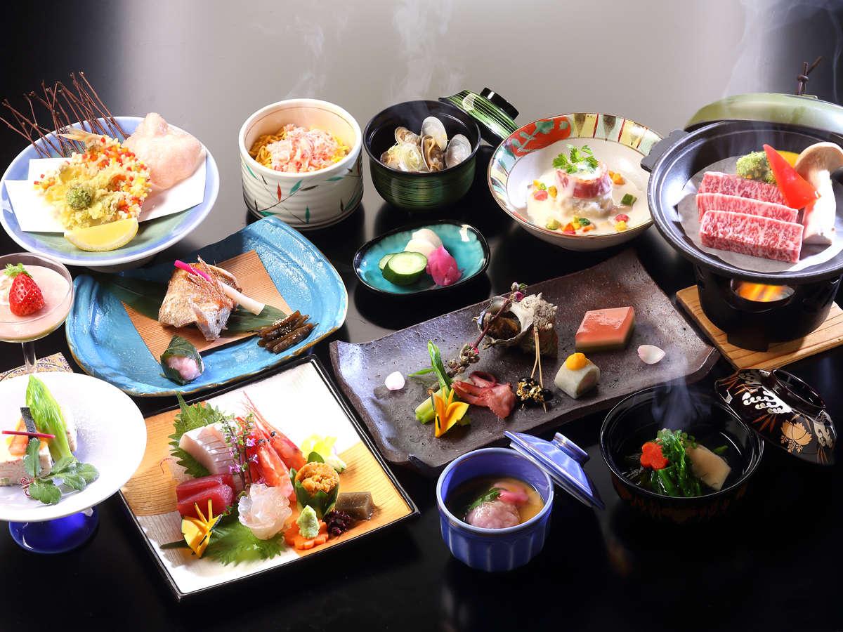 *【料理長おまかせプラン】料理一例(2019年4月~)