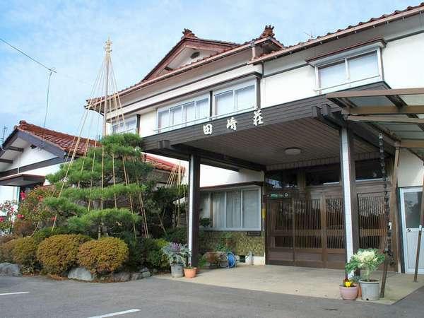 料理民宿「田崎荘」です!多趣味の主人が庭のお手入れも自らしております☆