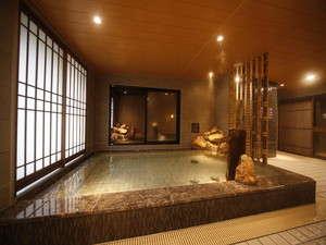 ◆男性大浴場内湯 水温:40度~42度 疲れた体に天然温泉は効果抜群
