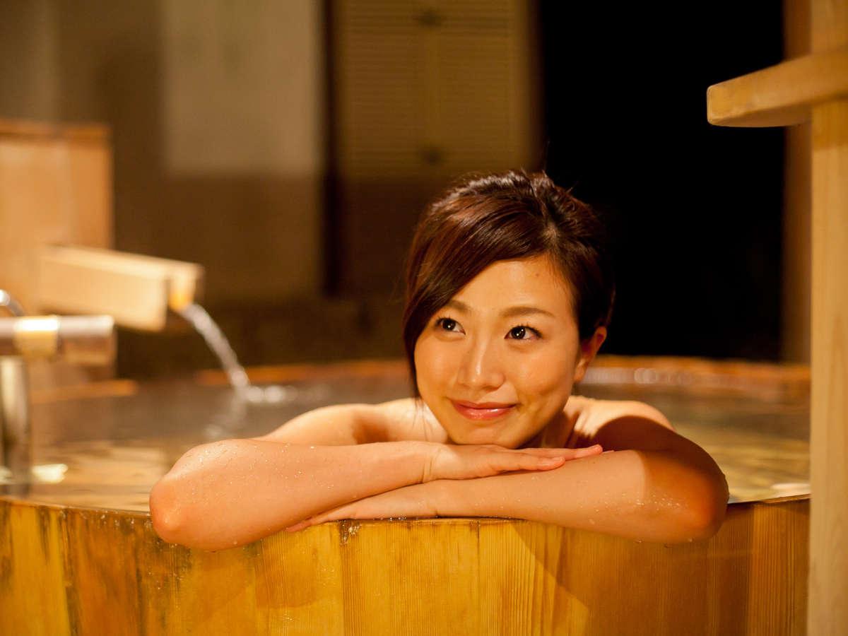 【貸切風呂】「月待の湯」