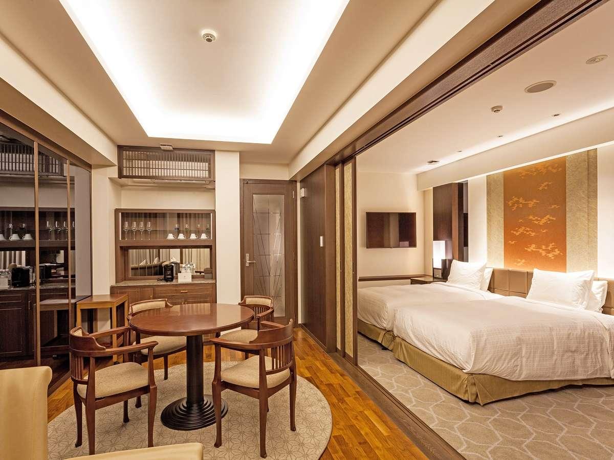 【EXESプレミアグランスイート】3階~9階に1部屋ずつ全7室ございます。