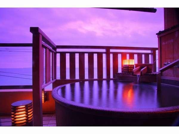 一番人気の「海一望10畳露天風呂付客室」