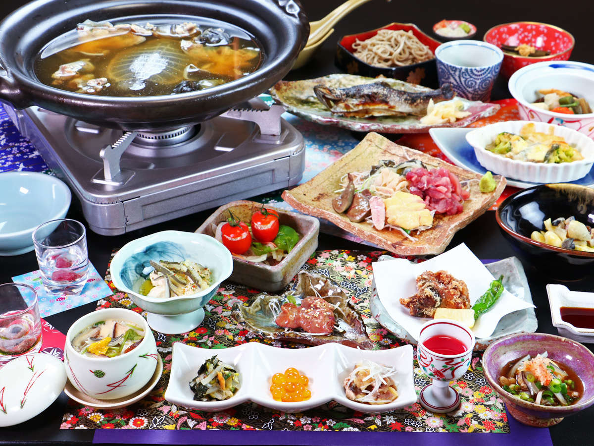 ★すっぽんフルコース 一例★様々な料理で、すっぽんが楽しめます。最後の雑炊は絶品♪